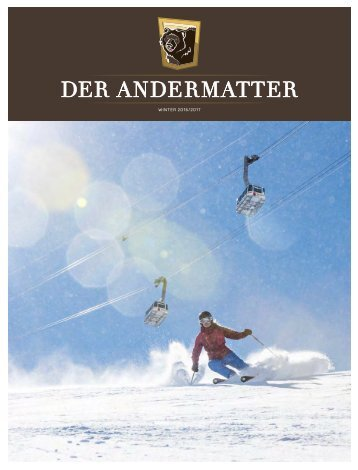 DER ANDERMATTER Winter 2016
