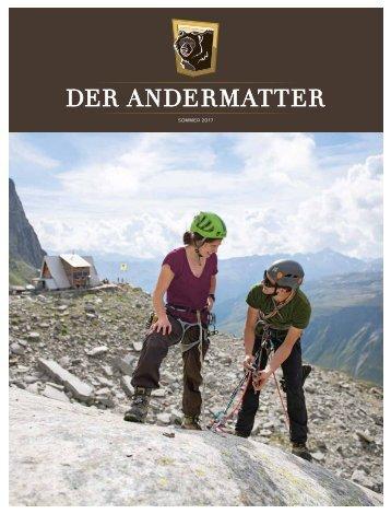 DER ANDERMATTER Sommer 2017