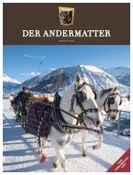 DER ANDERMATTER Winter 2017