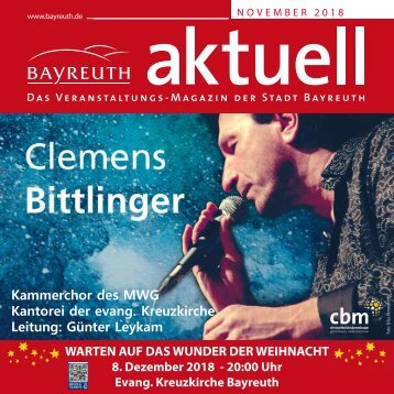 Bayreuth Aktuell November 2018