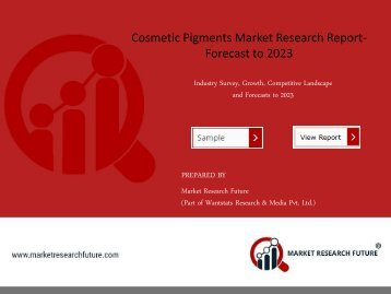 Cosmetic Pigments Market PDF