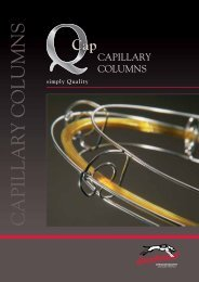 Greyhound Chromatography Q-Cap Catalogue