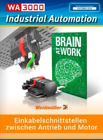 Industrial Automation - WA3000 Industrial Automation Oktober 2018