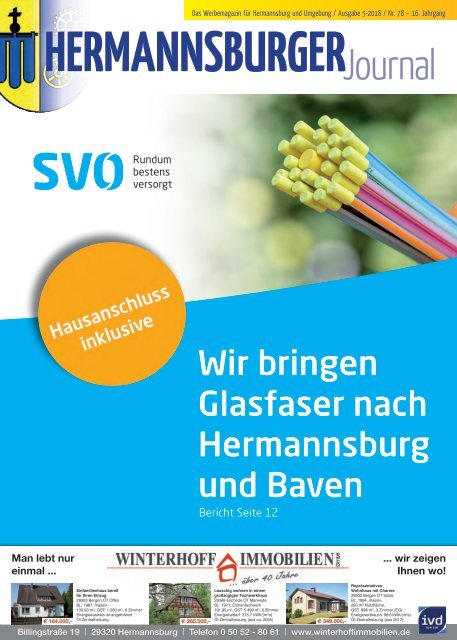 Hermannsburger Journal 5 2018 OKTOBER