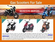 Gas Scooters For Sale
