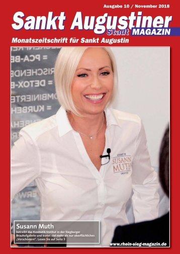 Sankt Augustiner Stadt-Magazin - November 2018