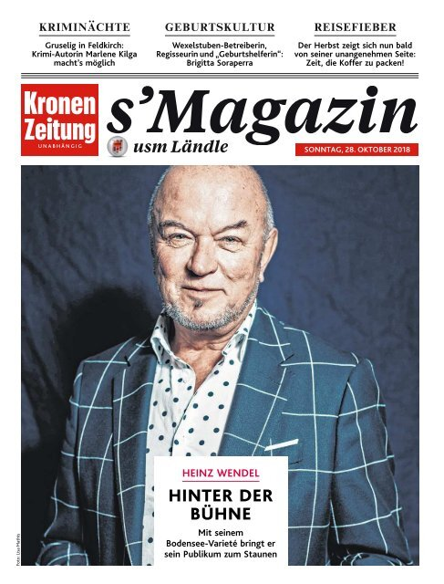 s'Magazin usm Ländle, 28. Oktober 2018