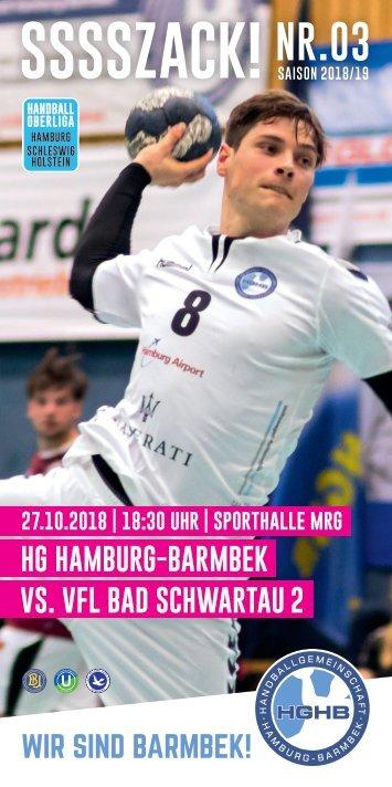 SSSSZACK! HGHB vs. VfL Bad Schwartau 2