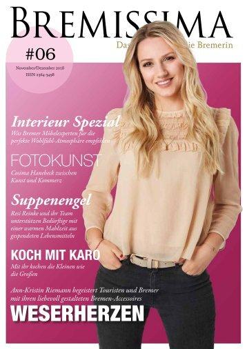 BREMISSIMA Magazin |November-Dezember 2018