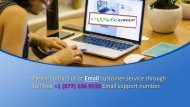 Online Email Support Number 1877-503-0107