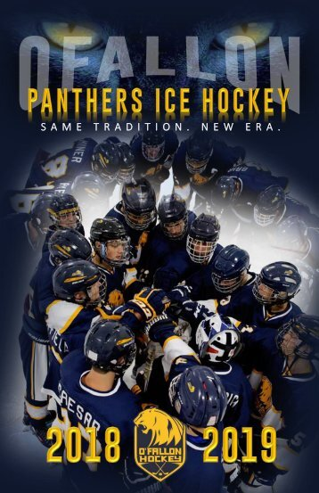 O'Fallon Panthers Ice Hockey 2018-2019 Season Media Guide