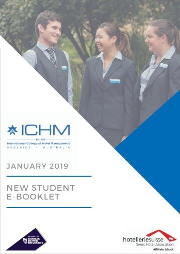 ICHM New student e-booklet January 2019