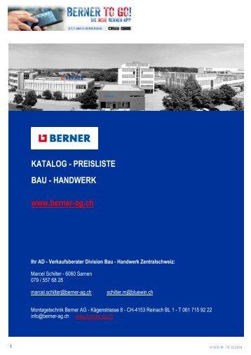 ADM Katalog BAU - HANDWERK  15. Okt. 2018