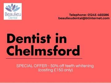 Best Cosmetic Dentist Chelmsford