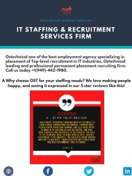 IT Staffing & Recruitment Services Firm