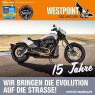 Harley-Davidson WESTPOINT |Das Magazin 3/2019