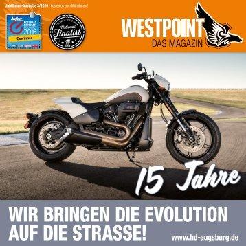 Harley-Davidson WESTPOINT  Das Magazin 3/2019