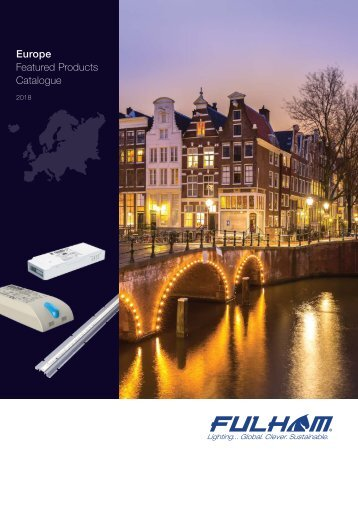 FULHAM Europe General Catalogue 2018