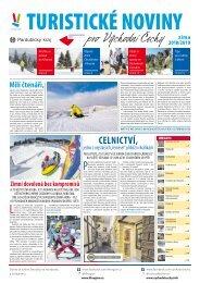 Turistické noviny pro Východní Čechy - zima 2018/2019