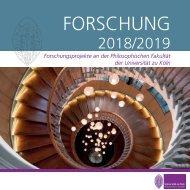 ForschungsbroschuerePhilfak 2018 2019
