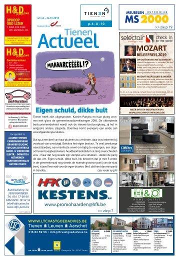 1843 Tienen Actueel - 24 oktober 2018 - week 43