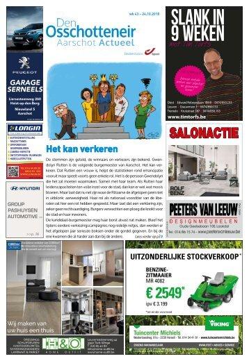 1843 Aarschot Actueel - 24 oktober 2018 - week 43