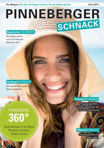Pinneberger Schnack- Juli 2017
