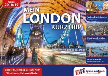Mein London Kurztrip (15. Ausgabe, Winter 2018/19)