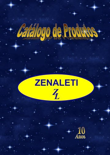 CATÁLOGO ATUAL ZENALETI