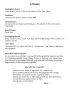 St Mary Redcliffe Church Pew Leaflet - October 28 2018   - Page 5