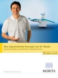 Das ergonomische Konzept von Dr. Beach - MORITA
