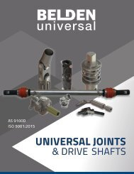 Belden Universal Joints and Drive Shafts