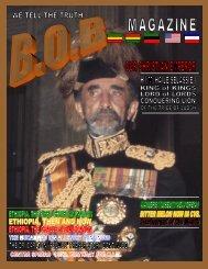 H.I.M. Emperor Haile Selassie I July