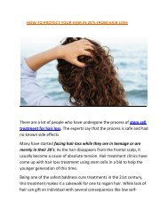 stem cell hair loss therapy