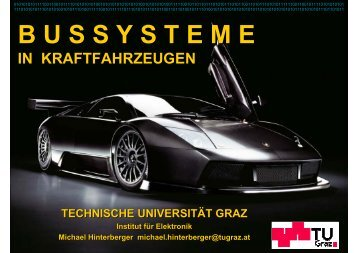 B U S S Y S T E M E - Institut für Elektronik