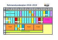 Rahmenstundenplan  Homepage