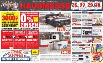 Große Möbel- und Küchen Hausmesse