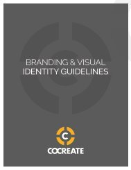 COCREATE Branding Guidelines FINAL