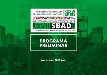 XXXVI SPED XVII SBAD PROGRAMA PRELIMINAR - v. esp