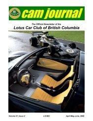 a Membership Application / Renewal Form - Lotus Car Club of ...