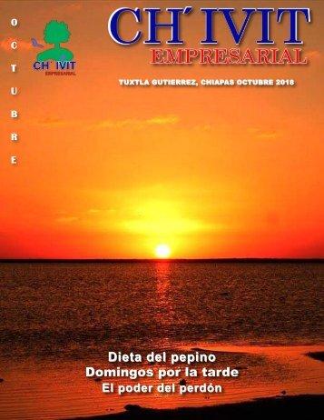 Revista Ch´ivit Empresarial octubre 2018
