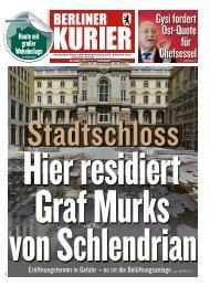 Berliner Kurier 27.10.2018