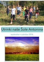 Utrinki naše Šole Antonina okt18