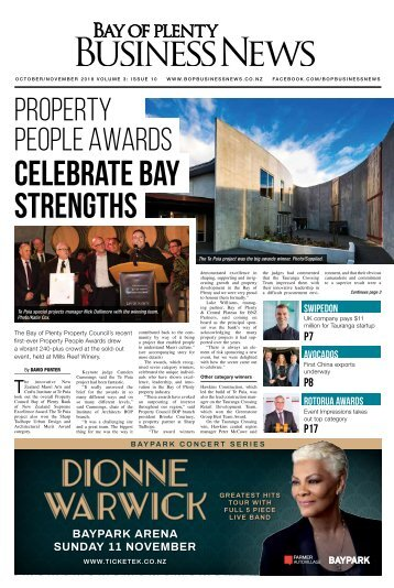 BAY OF PLENTY BUSINESS NEWS OCT/NOV 2018