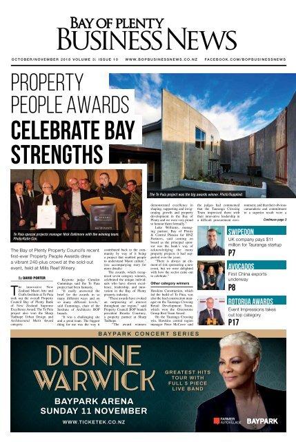 BAY OF PLENTY BUSINESS NEWS OCT/NOV 2018