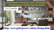 Godrej Reserve Plots At Devanahalli