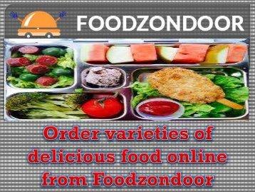 Order varieties of delicious food online from Foodzondoor