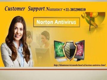 Norton Ondersteuning Nummer Nederland: +31-303200810