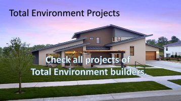 Total environment projects in Banglore