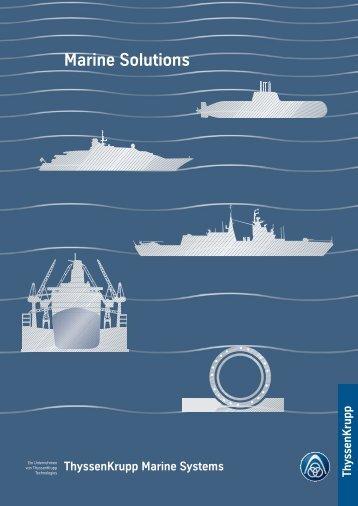 Marine Solutions - ThyssenKrupp AG
